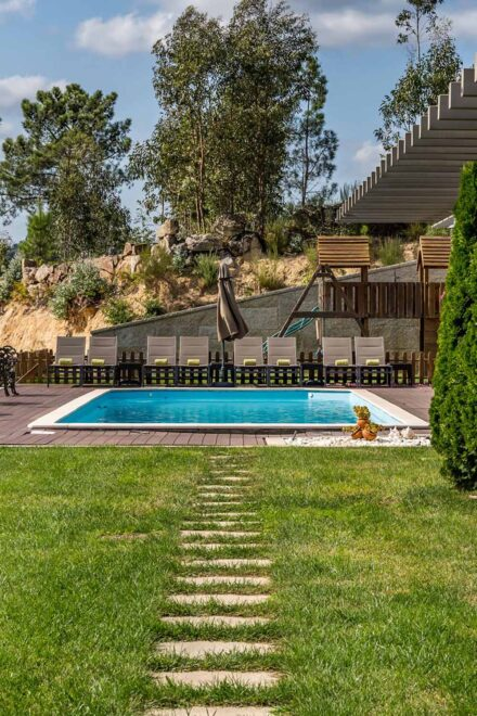 Piscina Quinta de Cabanas - Douro Country House